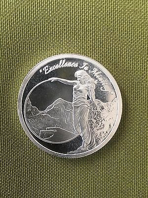 1 Oz Mason Mint Heritage Proof-Like Silver Round (.999 Pure)-In Stock- NEW