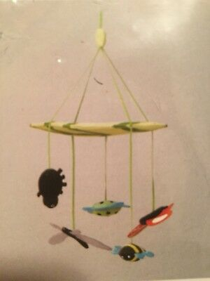 New LEKA Baby / Nursery Mobile, multi-color, bugs FREE Shipping