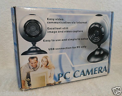 Pc Camera. Boxed With Dvd- Never Used. L@@k!