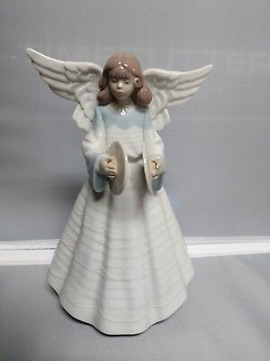 Lladro Angel with Cymbals