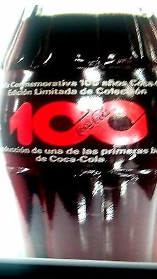 COKES 2 BOTTLES ONE FULL ONE EMPTY 100 YRS COLOMBIA  Very Rare HTF