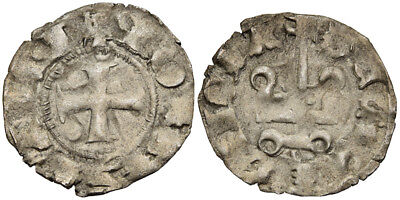 FORVM VF Crusaders Prince of Achaea Greece John of Gravina Corinth Denier