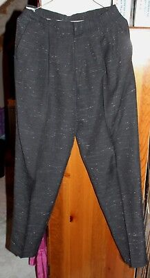 Cotler Dark Charcoal Grey w/Grey Pleated Slacks - MINT Condition Vintage 80s