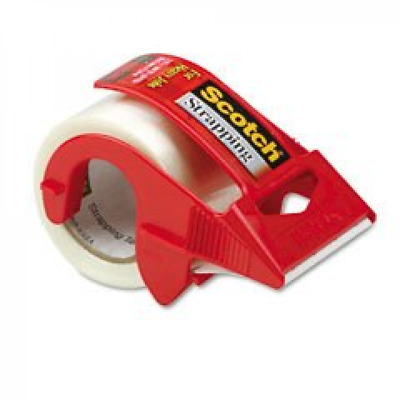 reinforced strength shipping and strapping tape in dispenser