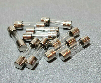 5A Glass Fuse M205 5x20mm Slow Blow 250V Pack of 10