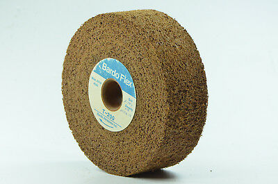 "NEW! BARDO Deburring Blend/Finishing Wheel General Purpose Wheel 6"" x 2"""