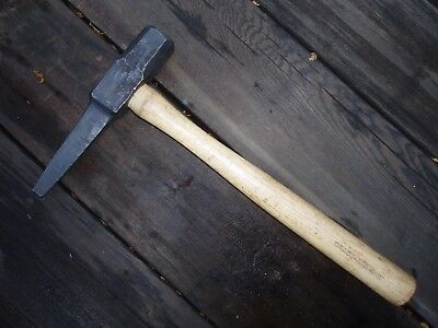 Vintage NOS Blacksmith Hand Forged  Tapered 3/8  Square Punch Hammer Super Nice!
