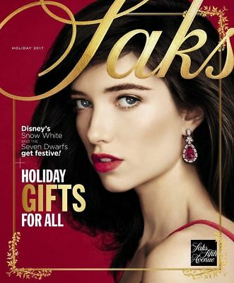 New! SAKS FIFTH AVENUE Holiday Book 2017 ~ Holiday Gifts for All