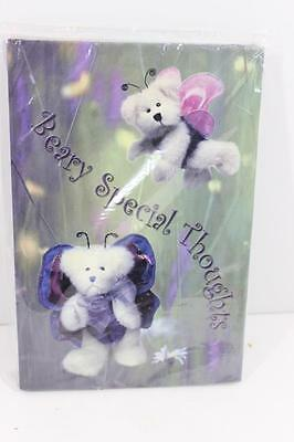 "Boyd's Bears ""Beary Special Thoughts"" Journal-NEW IN WRAP-RARE & ADORABLE!!"
