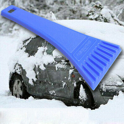 Portable Car Vehicle Windshield Snow Ice Shovel Scraper Cleaning Tools Blue