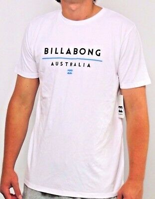 Men's Billabong Unite White Surf T Shirt / Tee. Size XL. NWT, RRP $49.99.
