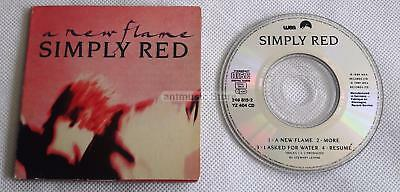 """Simply Red - A New Flame UK CD 3"""" CD"""