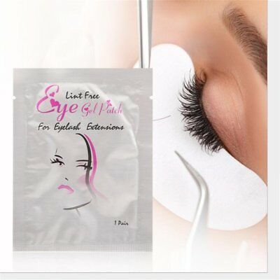 100 Pairs Eye pads Eyelash Pad Gel Patch Lint Free Lashes Extension Mask Eyepads
