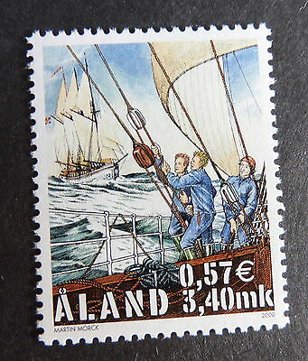 Aland 2000 visit by Cutty Sark Tall sailing ship SG178 MNH UM unmounted mint