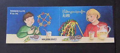 Aland 2008 Walpurgis Night self adhesive SG266 booklet MNH UM unmounted mint