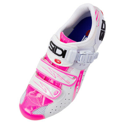 cd329869afe NEW SIDI GENIUS 5 Fit Woman Carbon Road Bike Cycling Shoes White Pink -   99.99