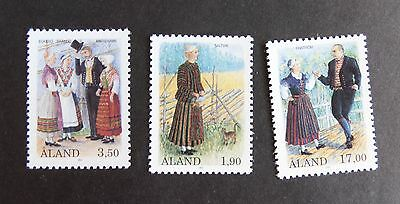Aland 1993  Costumes SG68/70 MNH UM unmounted mint