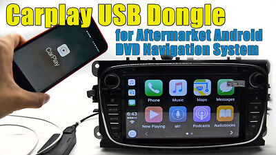 CarPlay & Android CAR USB DONGLE chiavetta MIRRORING x APPLE X AUTORADIO ANDROID