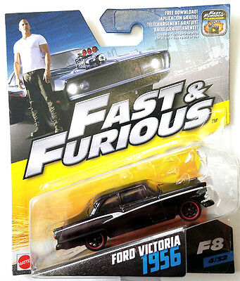 Fast & Furious 1:55 Scale - Ford Victoria 1956 - 4/32