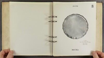 1959 Swedish Sterling Silver Trade Catalog - C.G. Hallbergs from Sweden