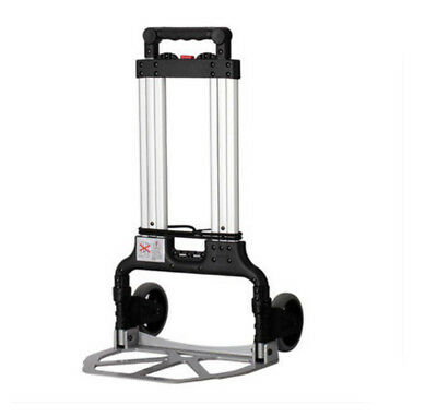 D59 Rugged Aluminium Luggage Trolley Hand Truck Folding Foldable Shopping Cart