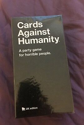 Cards Against Humanity UK V2.0 Edition Brand New Sealed with 150 NEW CARDS