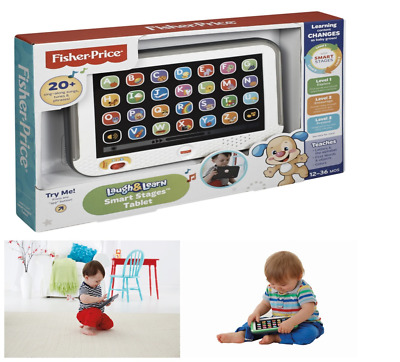 Fisher-Price Baby Smart Tablet Educational Learn Toys For Toddler Relief Sense