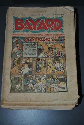 Set of 85 numbers BAYARD Nouvelle series 1946 à 1949