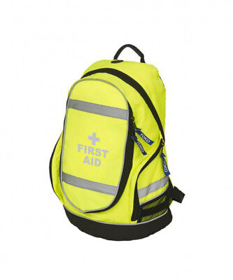 First Aid Hi-Vis Rucksack/Work Bag - Paramedic First Responder Ambulance