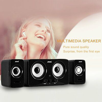 SADA D-220 Stereo Bass Surround Wired Subwoofer Portable Speaker Loudspeaker LA