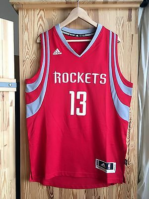 nba james harden 13 houston rockets rev30 black swingman. Black Bedroom Furniture Sets. Home Design Ideas