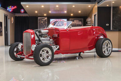 1932 Ford Roadster Street Rod Ford Roadster! Supercharged 350ci V8, 700R4 Automatic, 4-Wheel Disc, 9 inch Posi