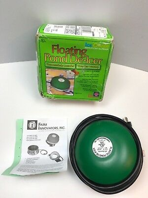 Floating Pond De Icer Ice Chaser 1250 watts