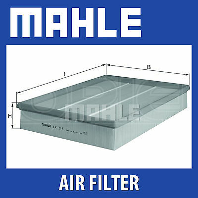 Mahle Air Filter LX717 - Fits Volvo - Genuine Part
