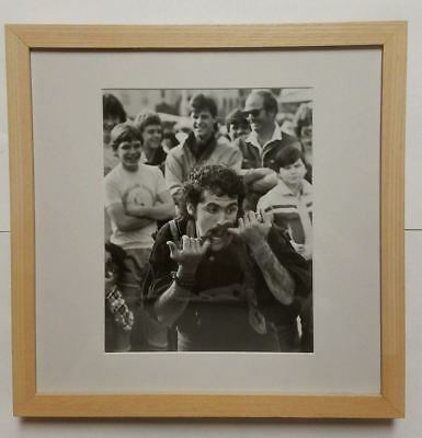 """Mark Townsend """"moods Of Man - Jester"""" C. 1970, Gelatin Silver Print Signed"""