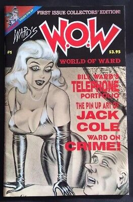 W.O.W. World Of Ward #1 (1st Print 1990) Rare Bill Ward GGA Pin-ups Torchy F/VF