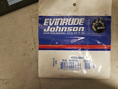 New Evinrude/ Johnson/ OMC Ring Set #383473