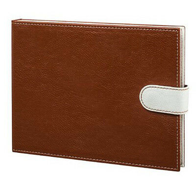 """Did-It 7"""" LCD Video Memory Book in Faux Pebbled Leather Cover Sable"""
