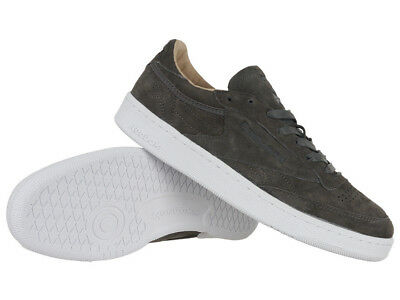 18ad76920  Reebok Classic Club C 85 LST Mens Leather Sneakers Low Shoes Casual  Trainers