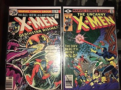 The Uncanny X-Men Lot many in high grade.