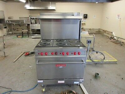 """Vulcan Electric Commercial 36""""  Oven Stove 480V 3 Ph VR2"""