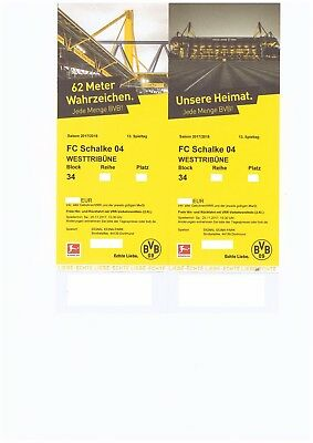 ticket dortmund schalke