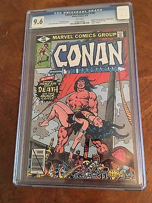 CONAN THE BARBARIAN #100 Marvel CGC 9.6 NM+ DEATH of Bêlit! Double Size Issue