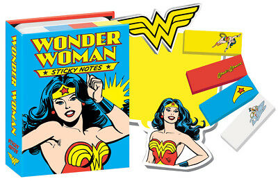 DC Comics Wonder Woman Comic Art Sticky Notes Post-Its SEALED NEW UNUSED