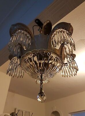 Art Deco Chandelier.