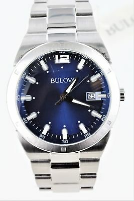 Bulova Men's 96B220 Stainless Steel Watch -Scratched Crystal