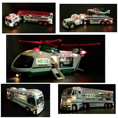 HESS TOY TRUCK Collection Lot of 5