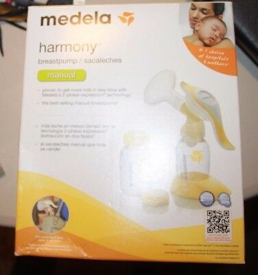 "Medela - ""Manual"" Harmony Breastpump/Sacaleches New With Open Box"
