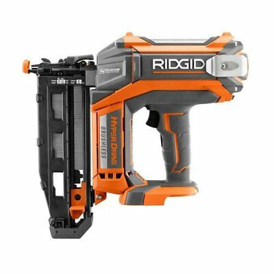 "Ridgid 18 Volt 16-Gauge 2-1/2"" Cordless Brushless Straight Finish Nailer R09892B"