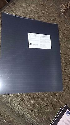 Creative Memories 10 x 12 PAPER BLACK RULED (10 Sheets)  NEW!